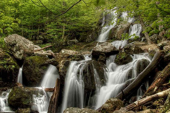 10 Hikes to Virginia Waterfalls -- Dark Hollow Falls, Shenandoah National Park