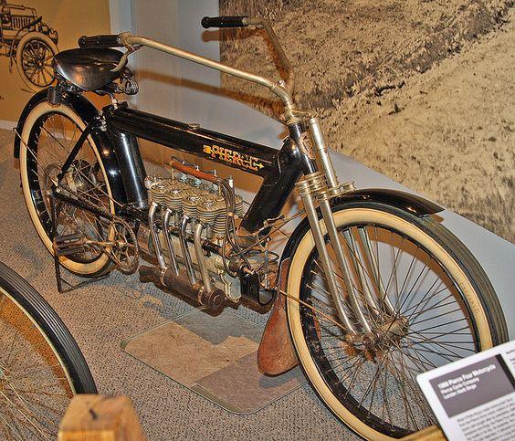 1909 Pierce 4 cylinder motorcycle | 1909 Pierce 4 Cylinder Motorcycle