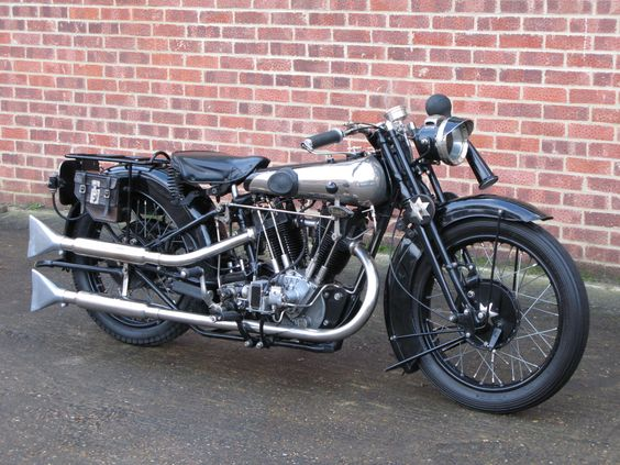 1927 Brough Superior 680