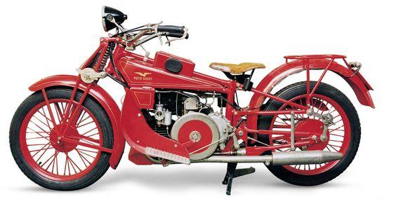 1928 Moto Guzzi GT500 Norge. Made in Mandello, Italy.