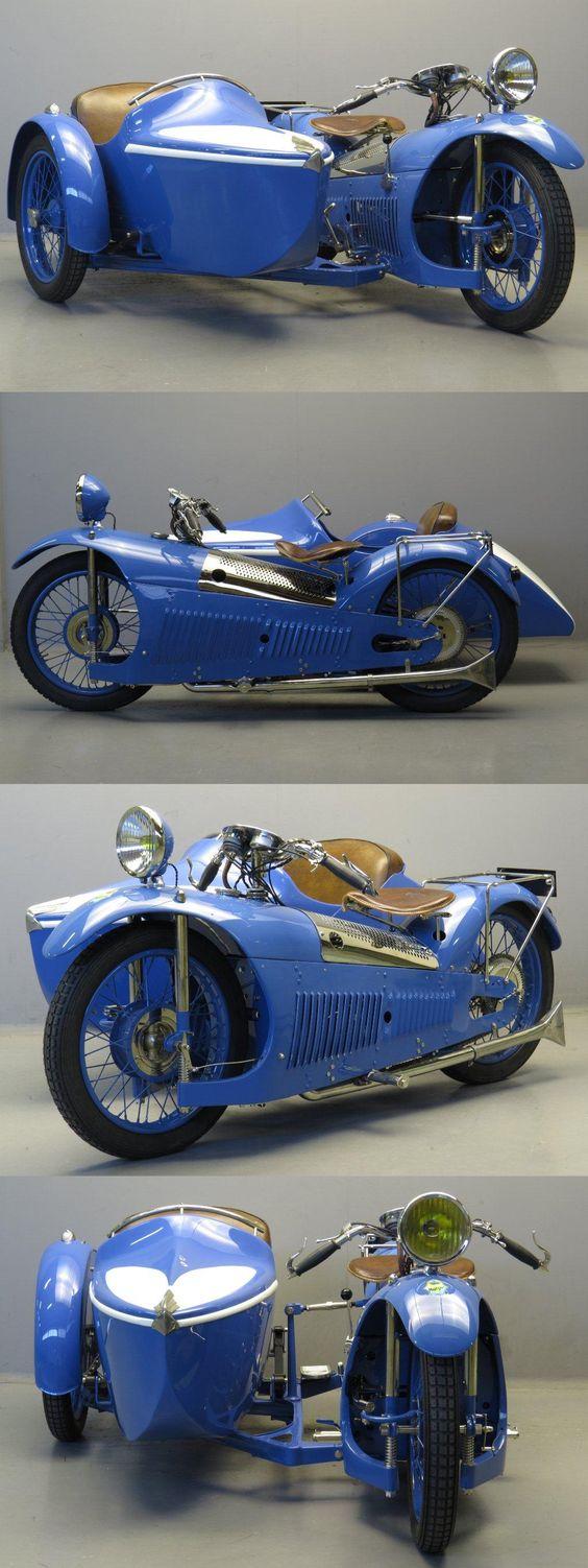 1930 Majestic 500cc & sidecar