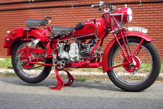1939 Moto Guzzi Alce 500 Militare