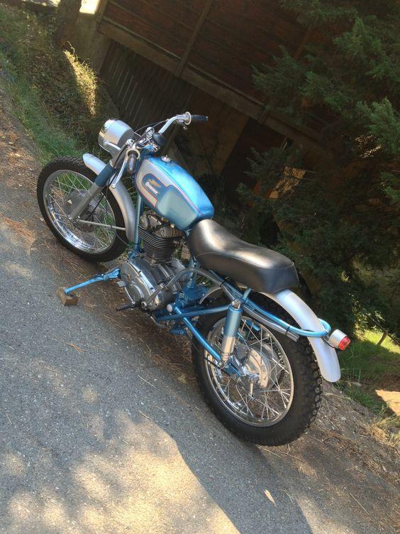 1963 Ducati 250.