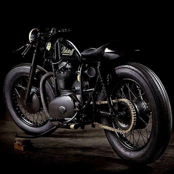 1964 #BSA 650 #caferacer #motorcycle #EatSleepRIDE