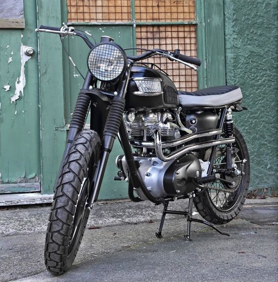 1965 TRIUMPH TR6 DESERT SCRAMBLER - PACIFIC MOTORCYCLE CO - THE BIKE SHED