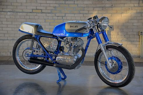 1966 Ducati 250 - Inazume Cafe Racer