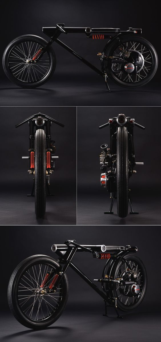 1966 Little Honda P25 :: CA6 By Chicara Nagata #motorcycle