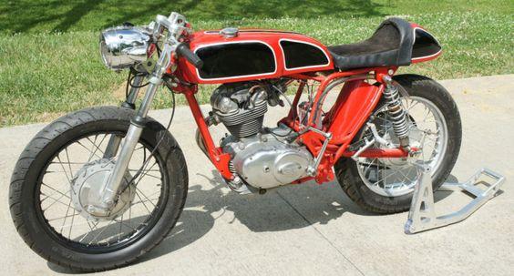1968 DUCATI 250 SINGLE CAFE RACER
