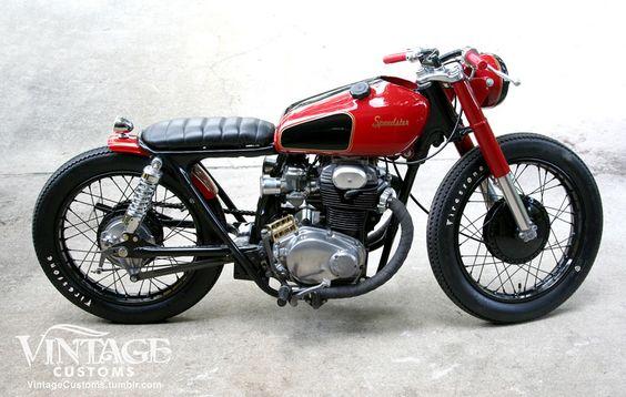 1969 Honda CB350 - Vintage Customs