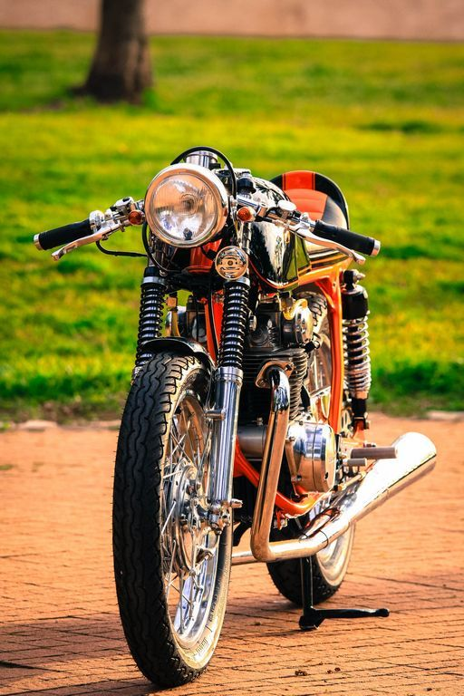 1970 Honda CB350 Cafe Racer by BOT