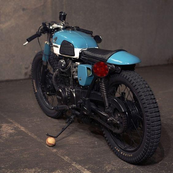 1973 Honda CL350 vintage custom build bike