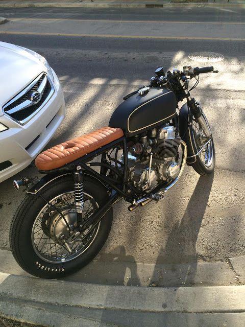 1975 Honda CB750 Brat Style -Photo by Kaetyn St. Hilaire #motorcycles #bratstyle #motos |