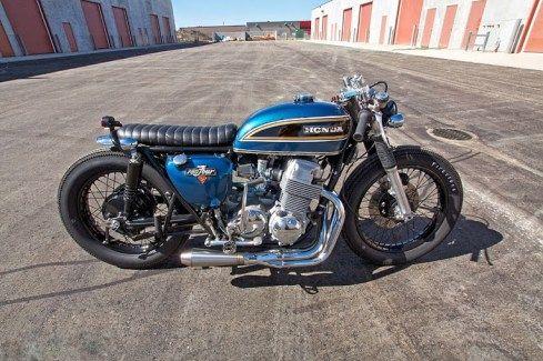 1975 Honda CB750 - Mike Salek - Inazuma Cafe Racer