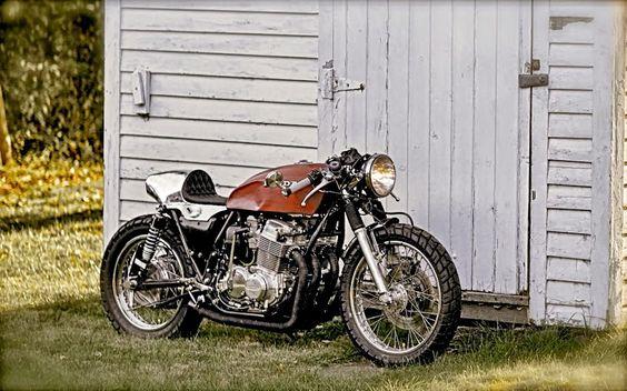 1978 HONDA CB750 CAFE RACER - TOM ROGAN JR - INAZUMA CAFE RACER