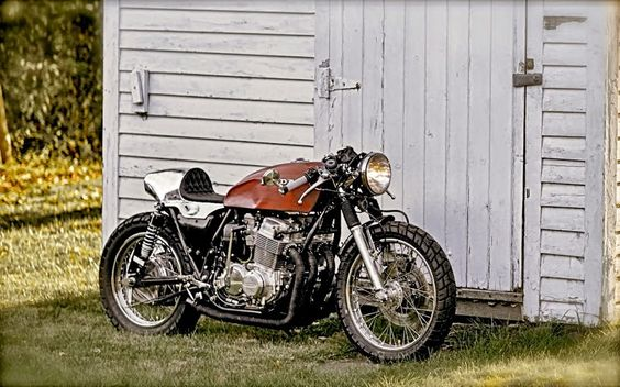 1978 HONDA CB750 CAFE RACER - TOM ROGAN JR - INAZUMA CAFE RACER