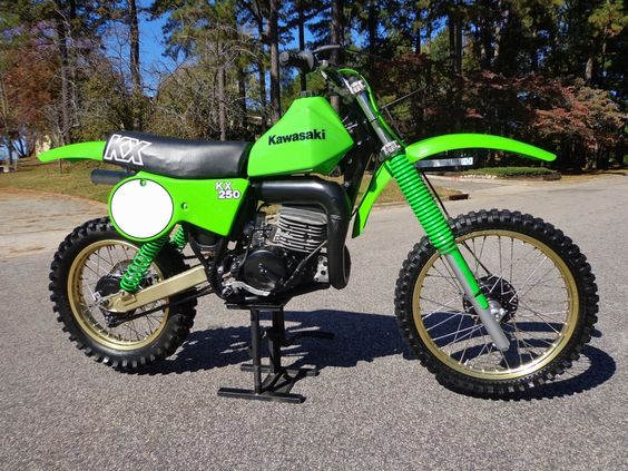 1979 Kawasaki KX250 - This has always been my favorite Dirt Bike I have ever owned!