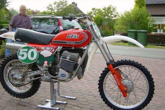 1979 KTM 400 Vintage Dirt Bike