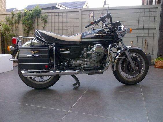 1979 Moto Guzzi T3 California. My Italian Mistress
