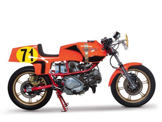 1980 Ducati 600 TT Pantah