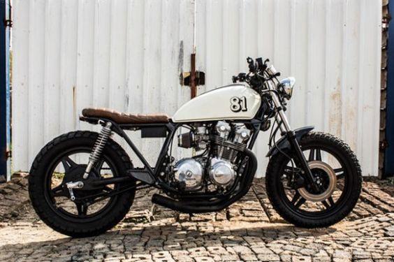 1981 Honda CB750 Brat - featured on Retro Write Up