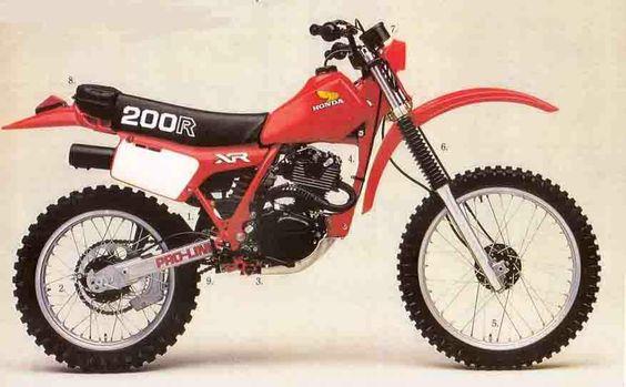 1981 Honda XR200R