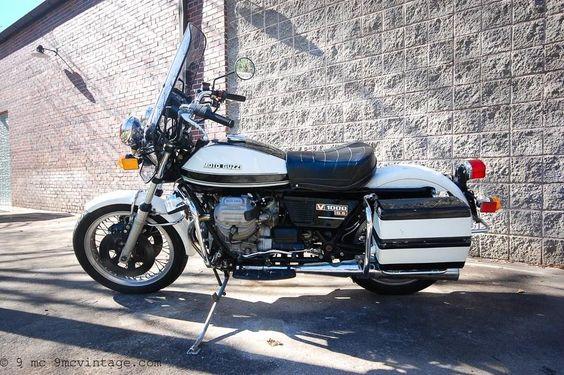 1981 Moto Guzzi G5 V1000 Police