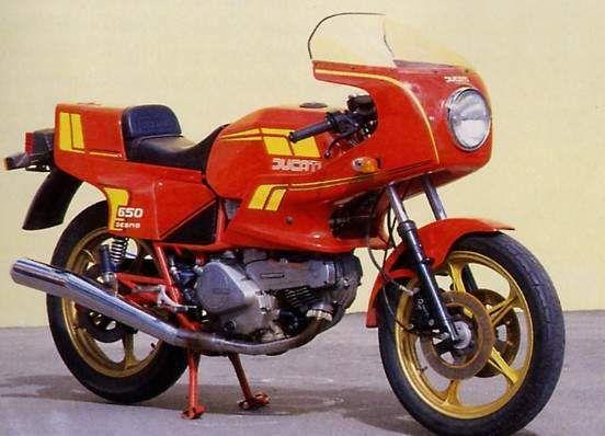 1983 Ducati 650SL Pantah