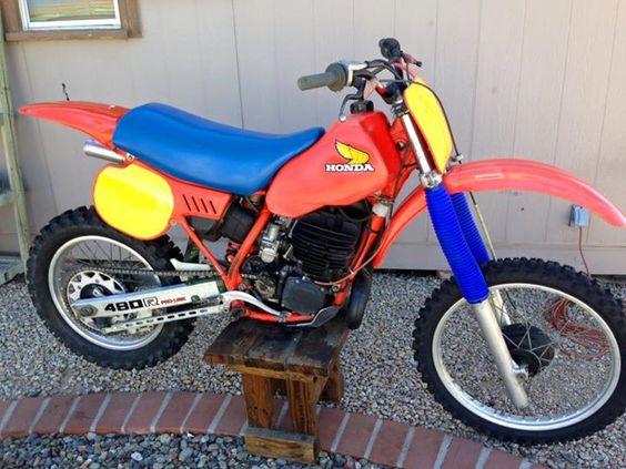 1984- Honda CR480R