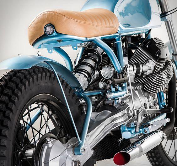 1985 Moto Guzzi V35 TT by Marco Matteucci