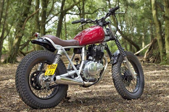 1993 SUZUKI GN250 - INGLORIOUS MOTORCYCLES Street Tracker #motorcycles #streettracker #motos |