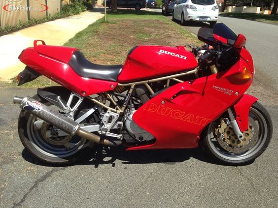 1997 Ducati 750SS Full Fairing
