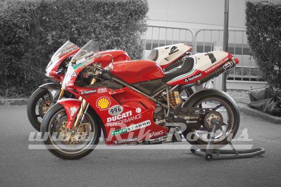 1999 Ducati 996 World Super Bike - Carl Fogarty