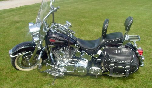 2000 Harley Davidson Heritage Softail Classic FLSTC 1450cc for sale, Price:$11,000. Manhattan, Illinois