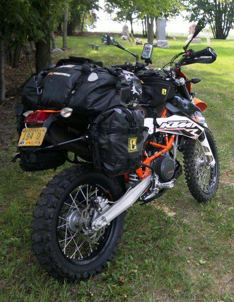 2009 KTM 690 Enduro w/Wolfman Luggage