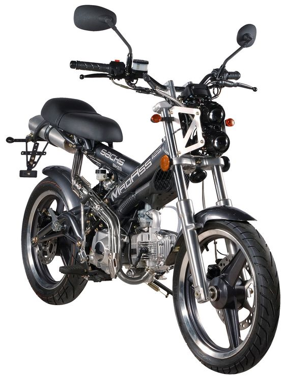 2009 Sachs MadAss 125cc Motor Scooter | 2012 2013 New Motorcycles ...
