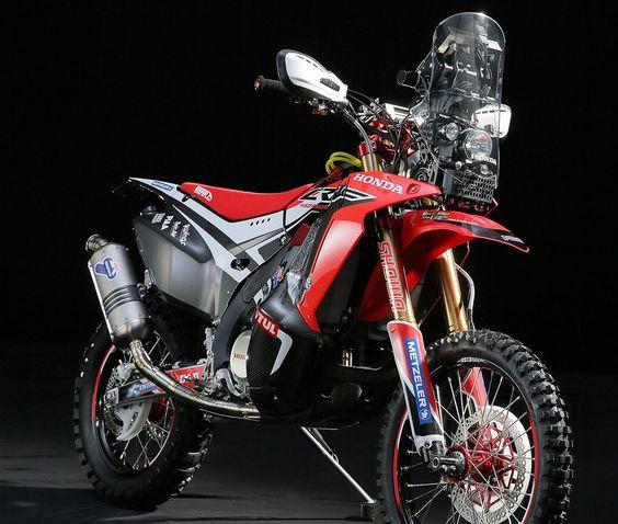 2014 Dakar: Honda CRF 450 Rally