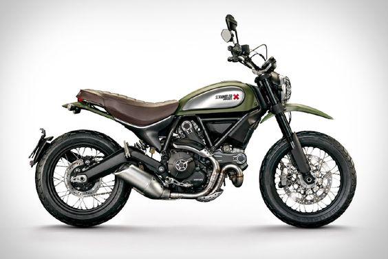 2015 Ducati Scrambler Urban Enduro Motorcycle