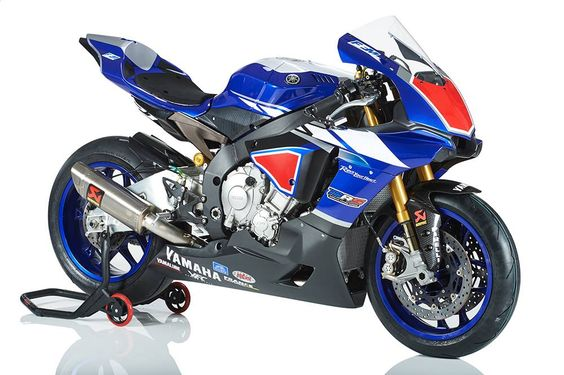 2015 Yamaha R1 race version.