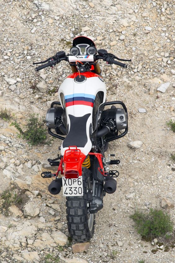 "2016 BMW R nineT ""Marlboro""  inpired of the BMW R80 GS Paris Dakar"