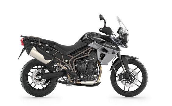 2016 Tiger 800 XRx in Phantom Black | Triumph Motorcycles
