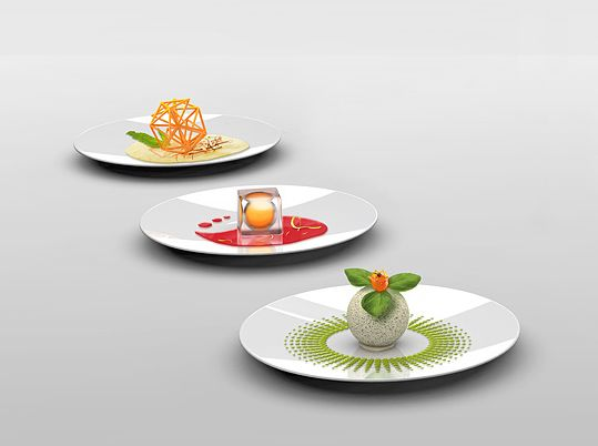 3D molecular food printer that relies on the expirimental molecular cooking technology - Yanko Design