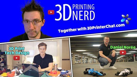 3D Printer giveaway by @3D PRINTER CHAT @Joel Telling @Anton Månsson @Daniel Norée #win a #3DPrinter #3dprinting #giveaway