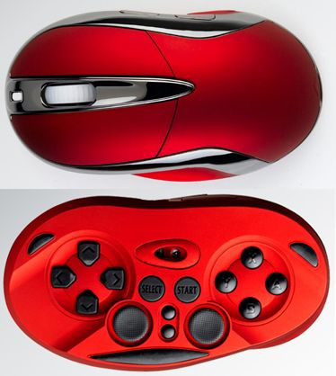50% Mouse, 50% Game controller.