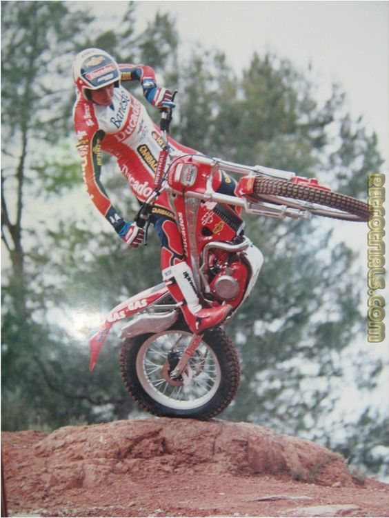 7 times World Motorcycle Trials Champion Jordi Tarres. Catalonia | Europe