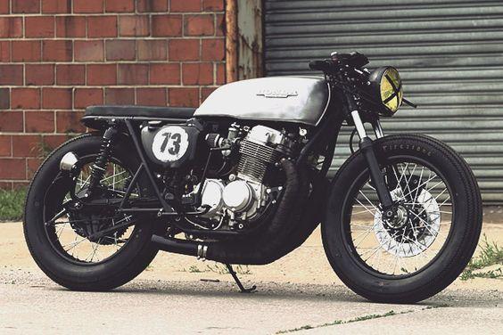 '73 Honda CB750 - Wes York   