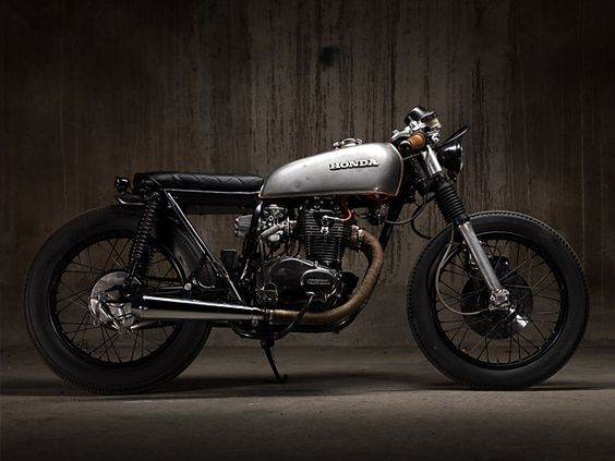 '75 Honda CB250G Brat  