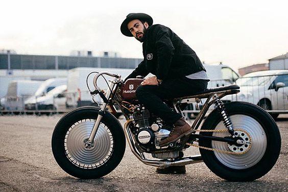 '76 Honda CB350F – Apache Custom Motorcycles |
