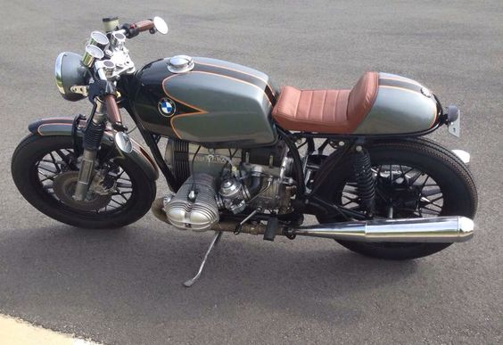81 BMW R65 Cafe Racer