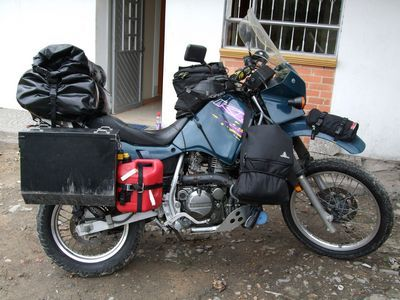 99 Kawasaki KLR 650 FULLY LOADED and ready for adventure.