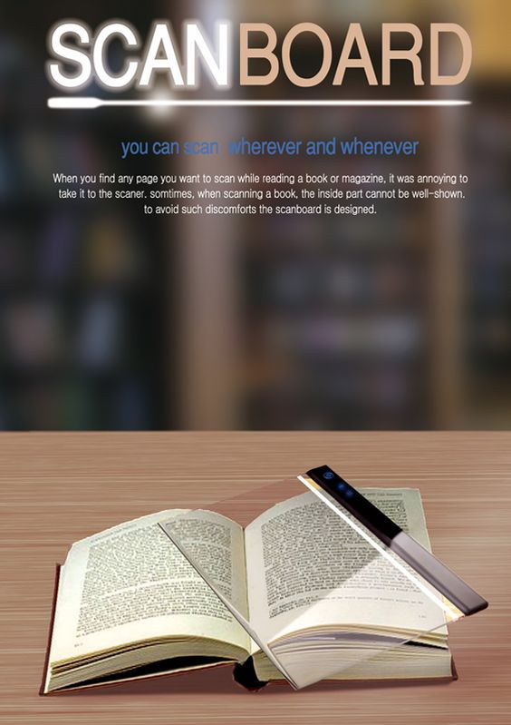 A portable scanner that doesn't cut off the inside of the page